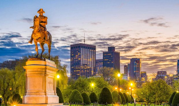 Boston thành phố cổ kính nhưng không kém phần xa hoa được du khách quan tâm nhiều