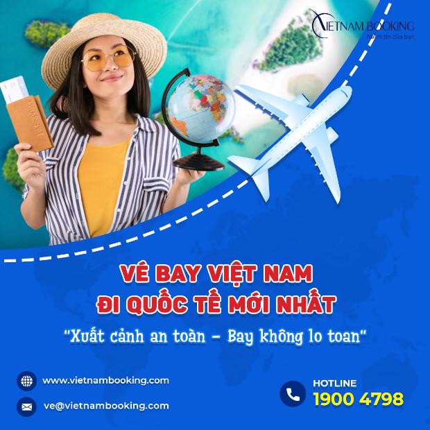 thông tin Việt Nam mở đường bay quốc tế